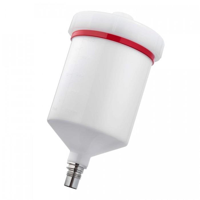 Багаторазовий пластиковий бачок QCC 600мл для краскопультів SATAjet 5000/4000/100