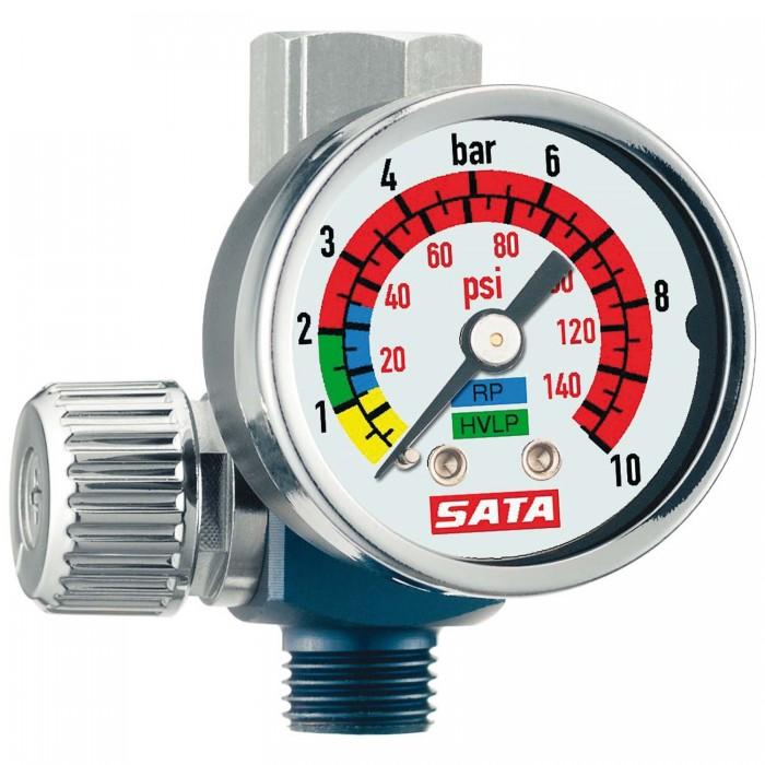 Регулятор тиску SATA з манометром