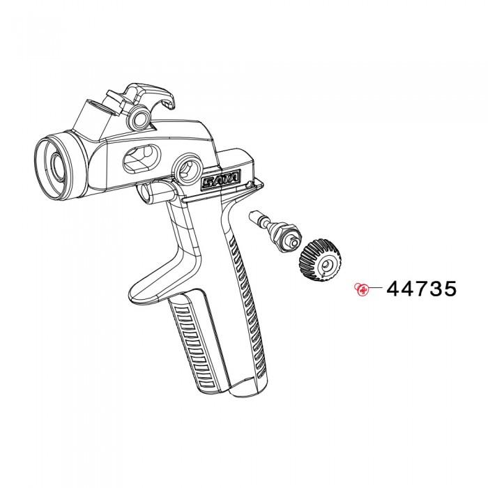 Фіксуючий гвинт M2.5*5 для SATAminijet