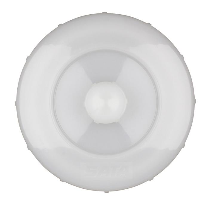 Кришка з пробкою для пластикового бачка SATA 0.6л