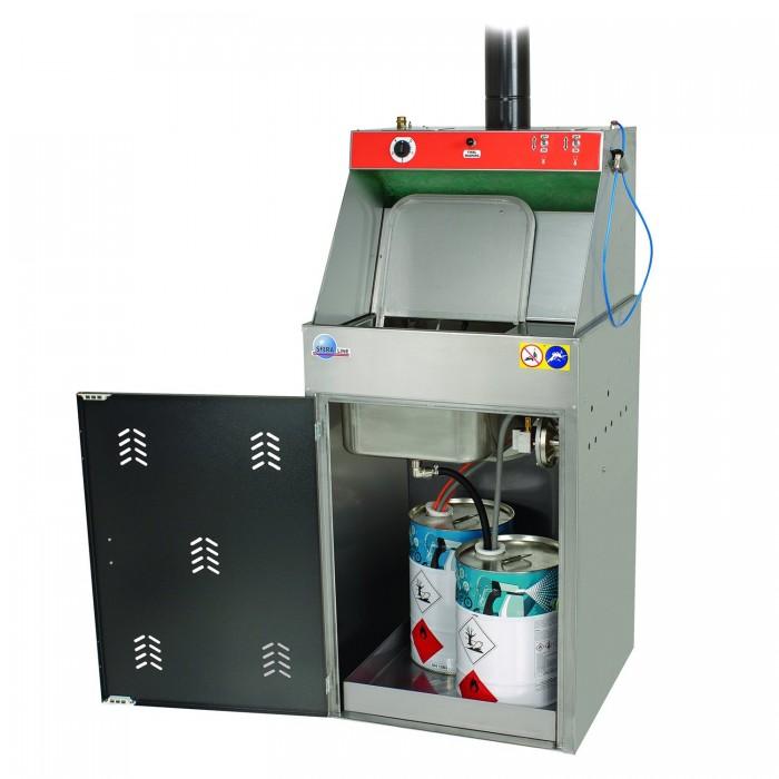Мийка краскопультів Spanesi SL42 Niagara Solvent автоматична