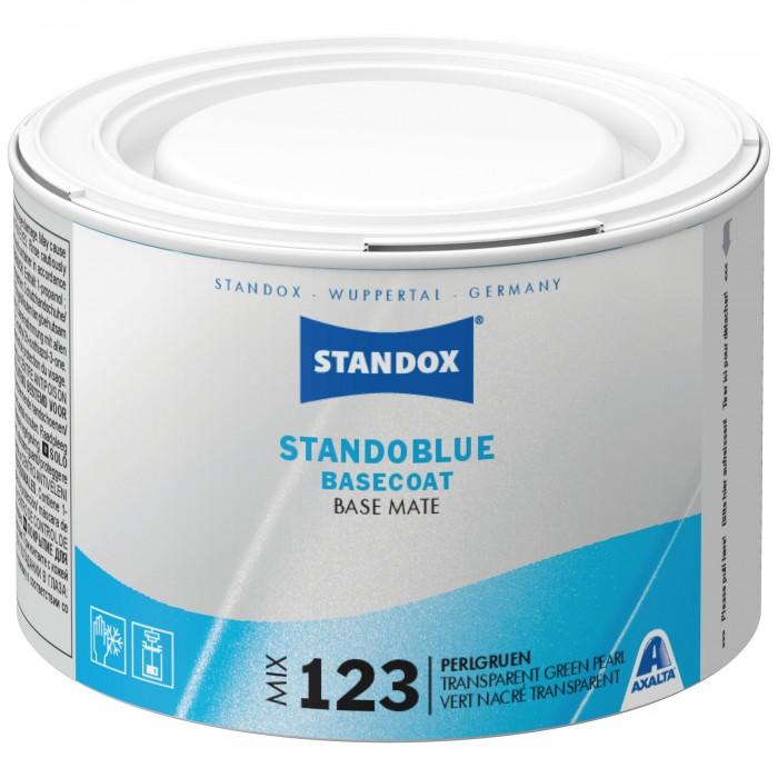 Базове покриття Standoblue Basecoat Mix 123 Transparent Green Pearl (500мл)
