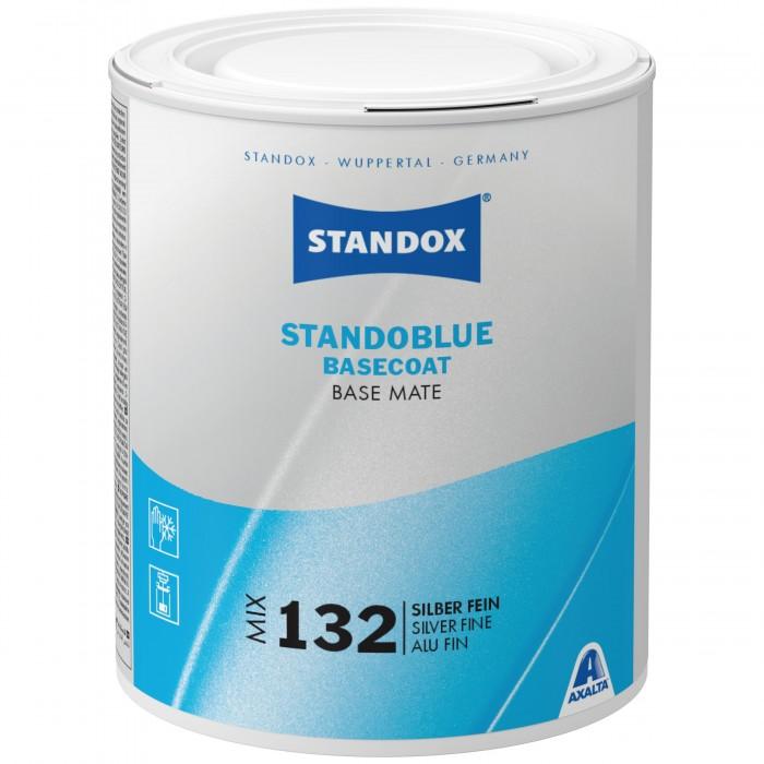Базове покриття Standoblue Basecoat Mix 132 Silver Fine (1л)