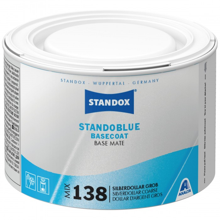 Базове покриття Standoblue Basecoat Mix 138 Silver Dollar Coarse (500мл)