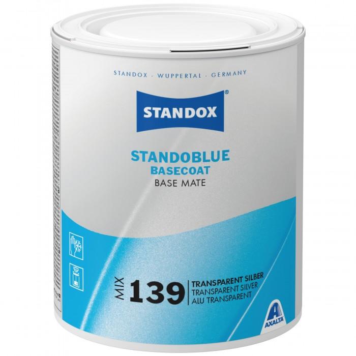 Базове покриття Standoblue Basecoat Mix 139 Transparent Silver (1л)