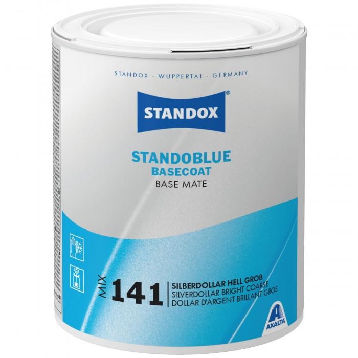 Базове покриття Standoblue Basecoat Mix 141 Silverdollar Bright Coarse (1л)