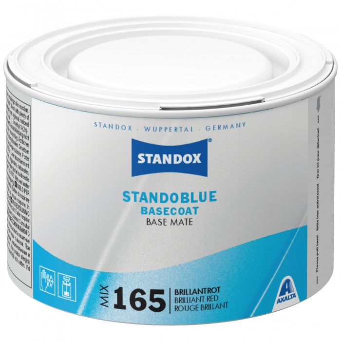 Базове покриття Standoblue Basecoat Mix 165 Brilliant Red (500мл)