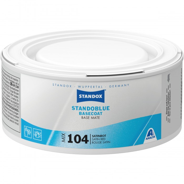 Базове покриття Standoblue Basecoat Mix 104 Satin Red (250мл)