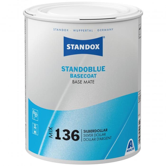 Базове покриття Standoblue Basecoat Mix 136 Silver Dollar (3.5л)