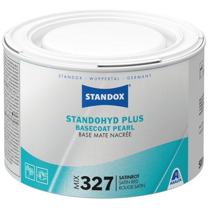 Базове покриття Standohyd Plus Basecoat Mix 327 Satin Red (500мл)