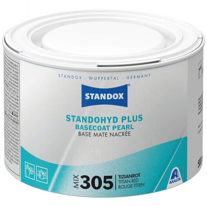 Базове покриття Standohyd Plus Basecoat Mix 305 Titian Red (500мл)