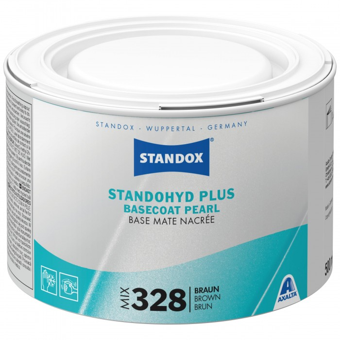 Базове покриття Standohyd Plus Basecoat Mix 328 Brown (500мл)