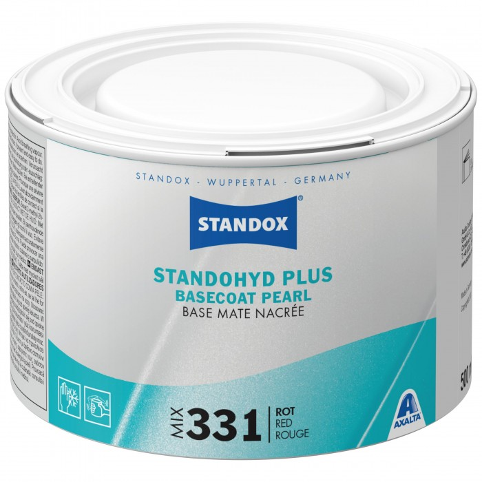 Базове покриття Standohyd Plus Basecoat Mix 331 Red (500мл)