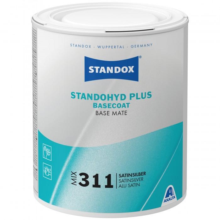 Базове покриття Standohyd Plus Basecoat Mix 311 Satinsilver (1л)