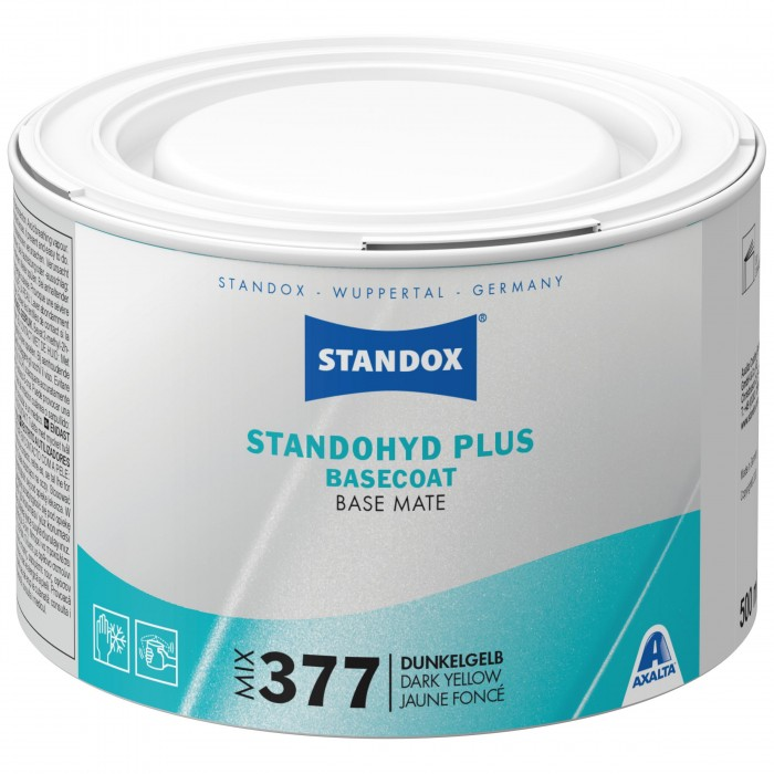 Базове покриття Standohyd Plus Basecoat Mix 377 Dark Yellow (500мл)
