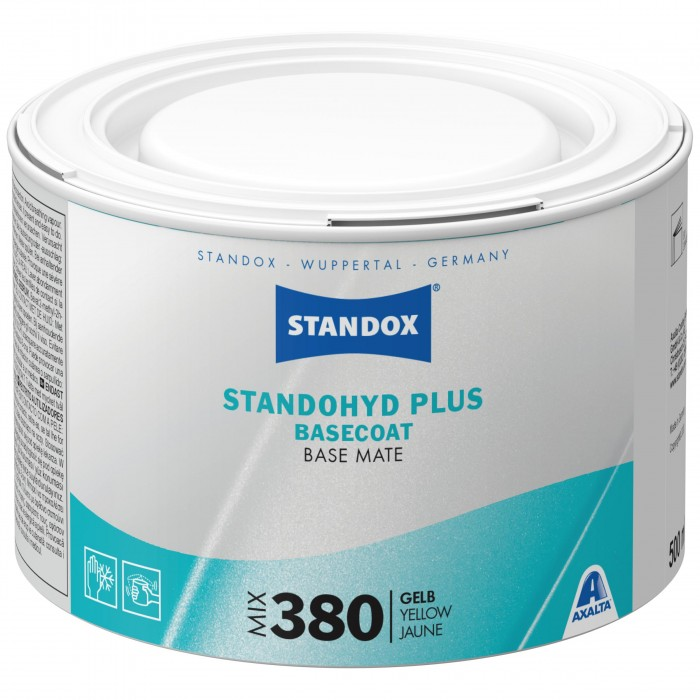 Базове покриття Standohyd Plus Basecoat Mix 380 Yellow (500мл)