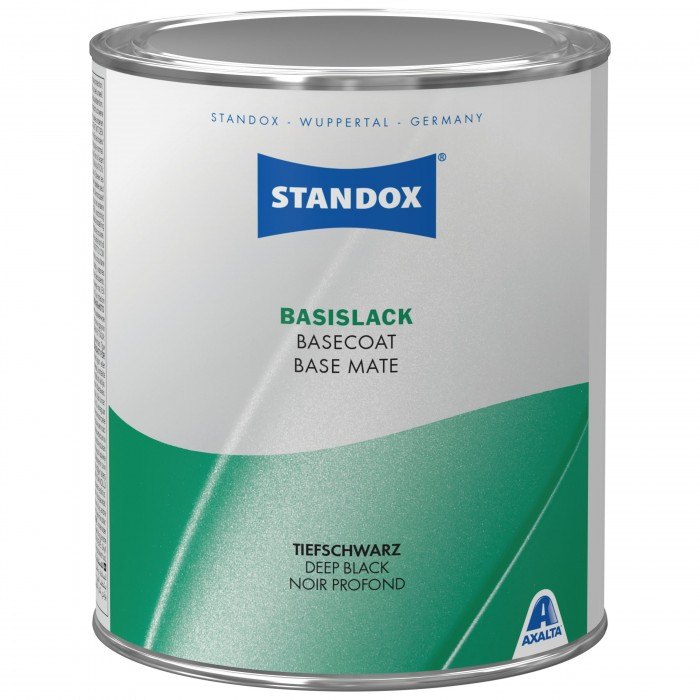 Готове покриття Standox Basecoat Deep Black (1л)