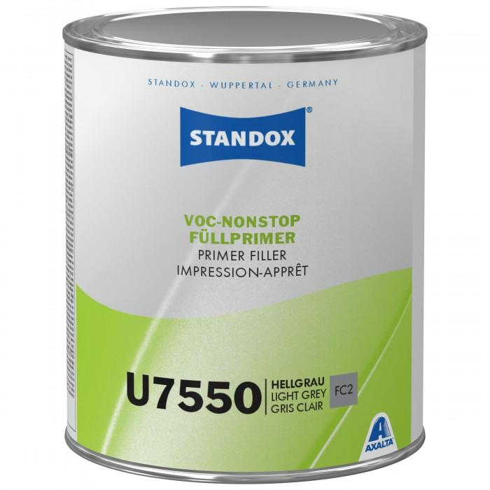 Грунт-наповнювач Standox VOC Nonstop Primer Filler U7550 Light Grey (1л)