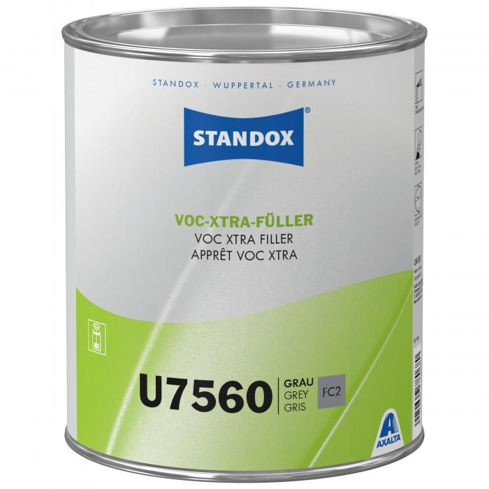 Грунт-наповнювач Standox VOC Xtra Filler U7560 Grey (3.5л)