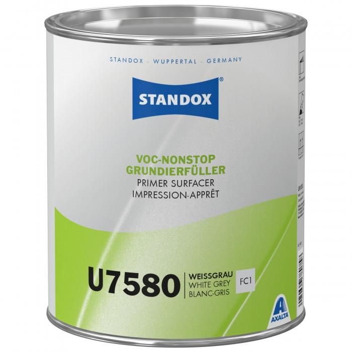 Грунт-наповнювач Standox VOC Nonstop Primer Surfacer U7580 White Gray (3.5л)