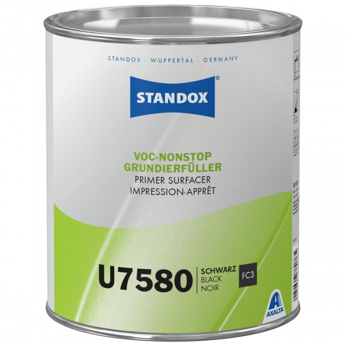 Грунт-наповнювач Standox VOC Nonstop Primer Surfacer U7580 Black (3.5л)