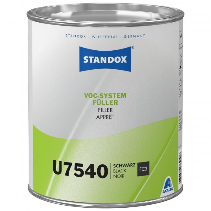 Грунт-наповнювач Standox VOC System Filler U7540 Black (3.5л)