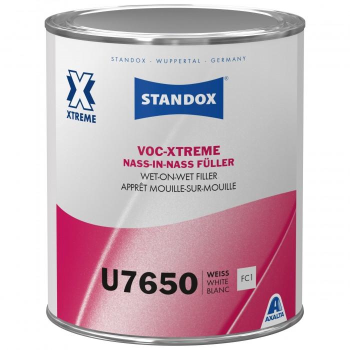 Грунт-наповнювач Standox VOC-Xtreme Wet-On-Wet Filler U7650 White (1л)