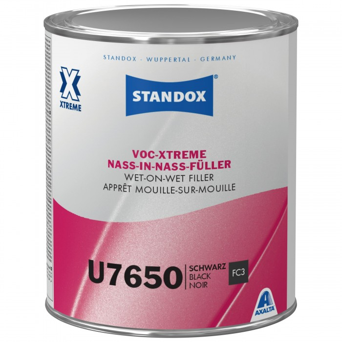 Грунт-наповнювач Standox VOC-Xtreme Wet-On-Wet Filler U7650 Black (1л)