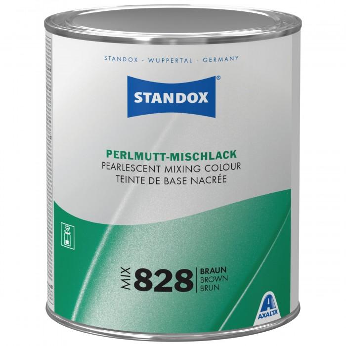 Базове покриття Standox Basecoat Pearl Mix 828 Brown (1л)