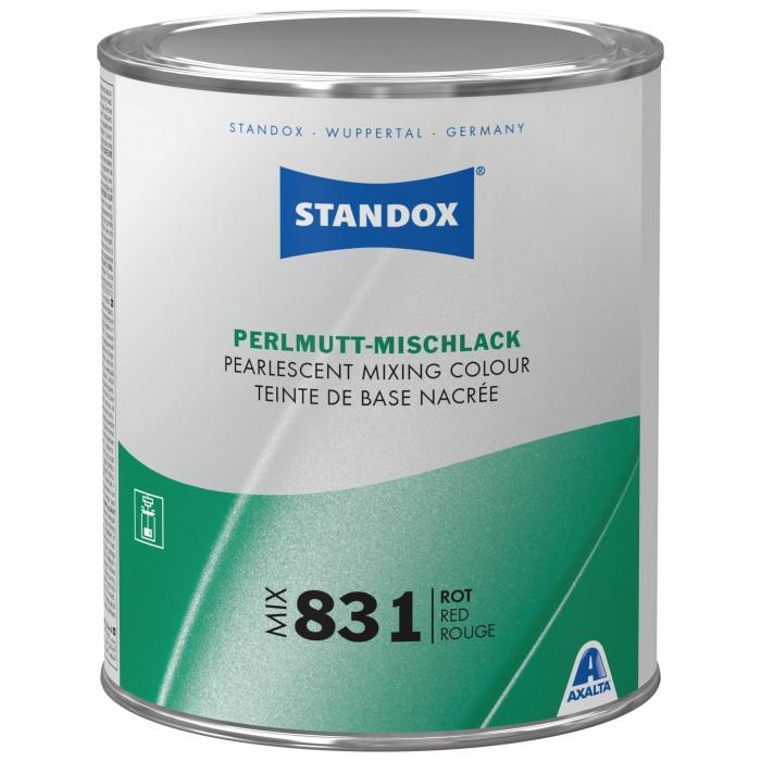Базове покриття Standox Basecoat Pearl Mix 831 Red (1л)