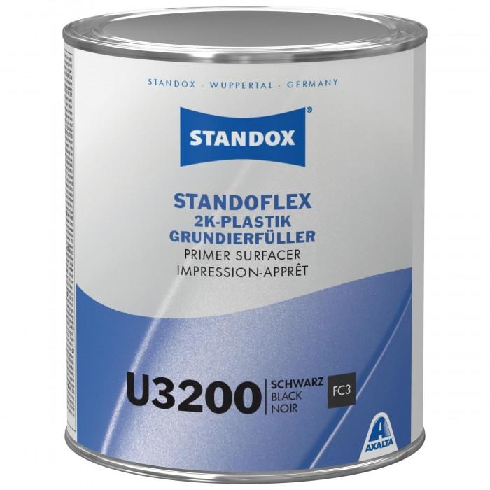 Грунт-наповнювач Standoflex 2K Plastic Primer Surfacer U3200 Black (1л)