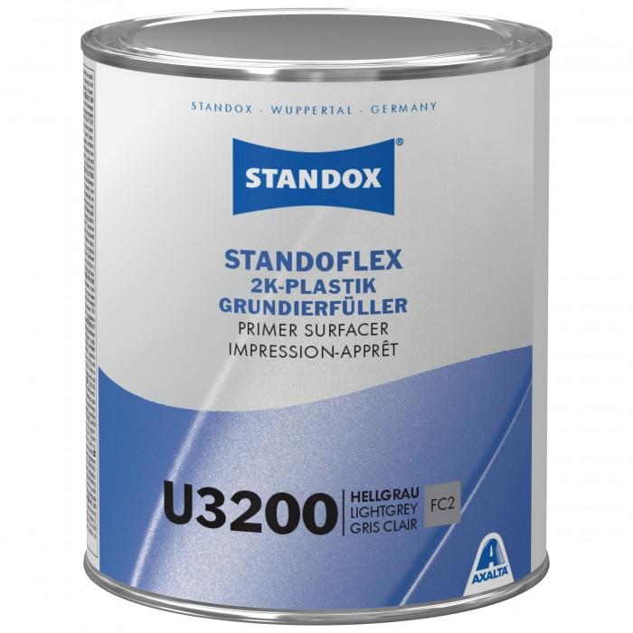 Грунт-наповнювач Standoflex 2K Plastic Primer Surfacer U3200 Light Grey (1л)