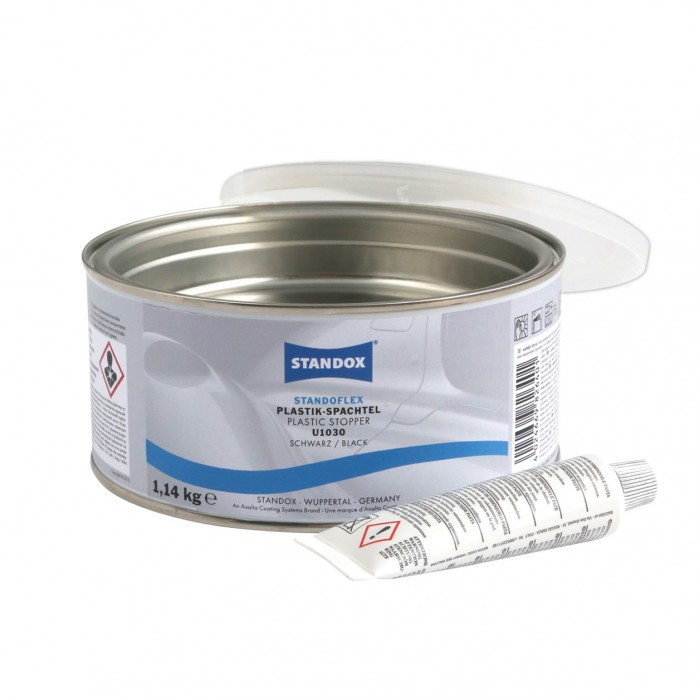 Поліефірна шпаклівка Standoflex Plastic Stopper U1030 Black (1.14кг)