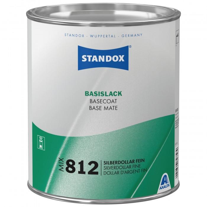Базове покриття Standox Basecoat Mix 812 Silverdollar Fine (3.5л)