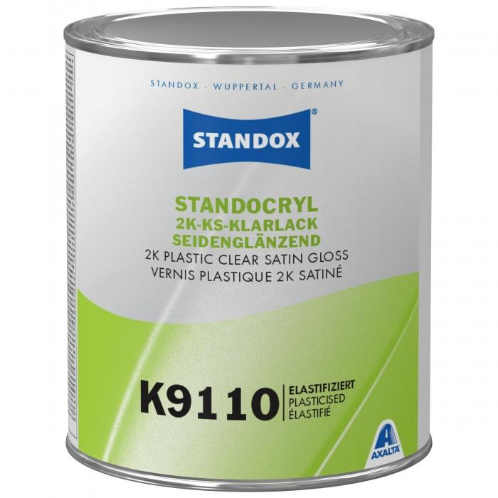 Напівматовий лак Standocryl 2K Plastic Clear Satin Gloss K9110 (1л)
