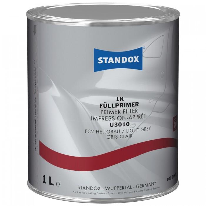 Грунт-наповнювач Standox 1K Primer Filler U3010 Light Grey (1л)
