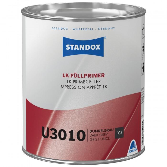 Грунт-наповнювач Standox 1K Primer Filler U3010 Dark Grey (3.5л)