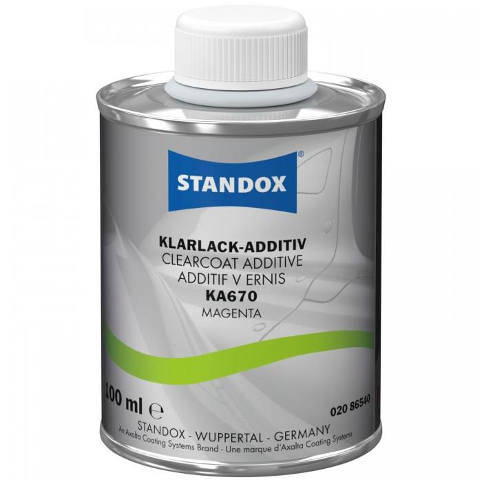 Добавка в лак Standox Clearcoat Additive KA670 Magenta (100мл)