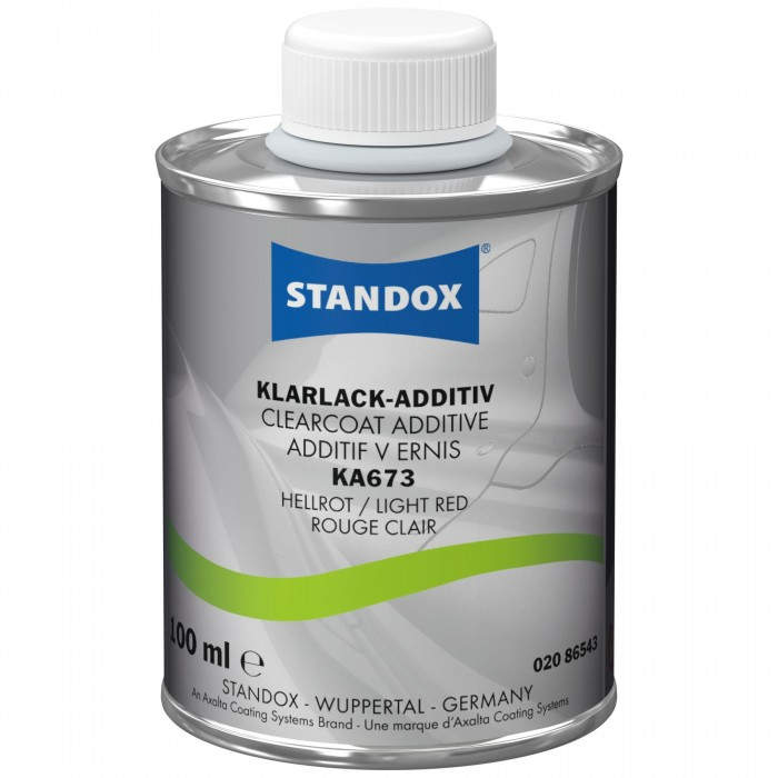 Добавка в лак Standox Clearcoat Additive KA673 Light Red (100мл)