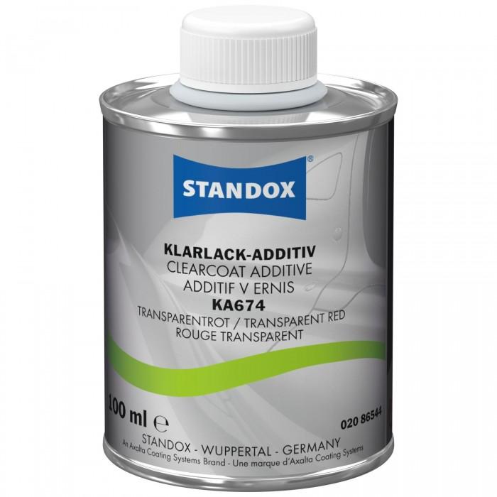 Добавка в лак Standox Clearcoat Additive KA674 Transparent Red (100мл)