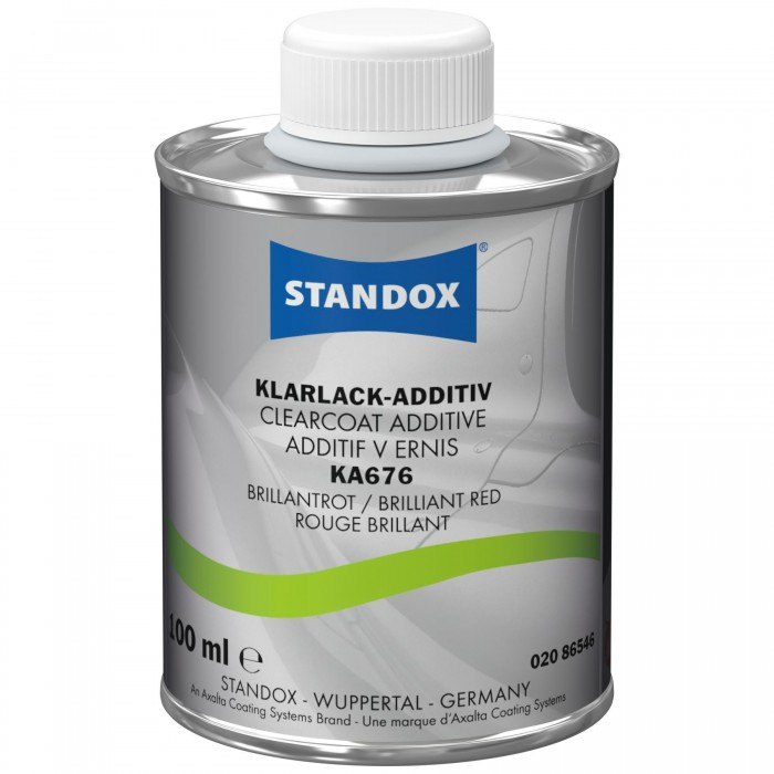 Добавка в лак Standox Clearcoat Additive KA676 Brilliant Red (100мл)