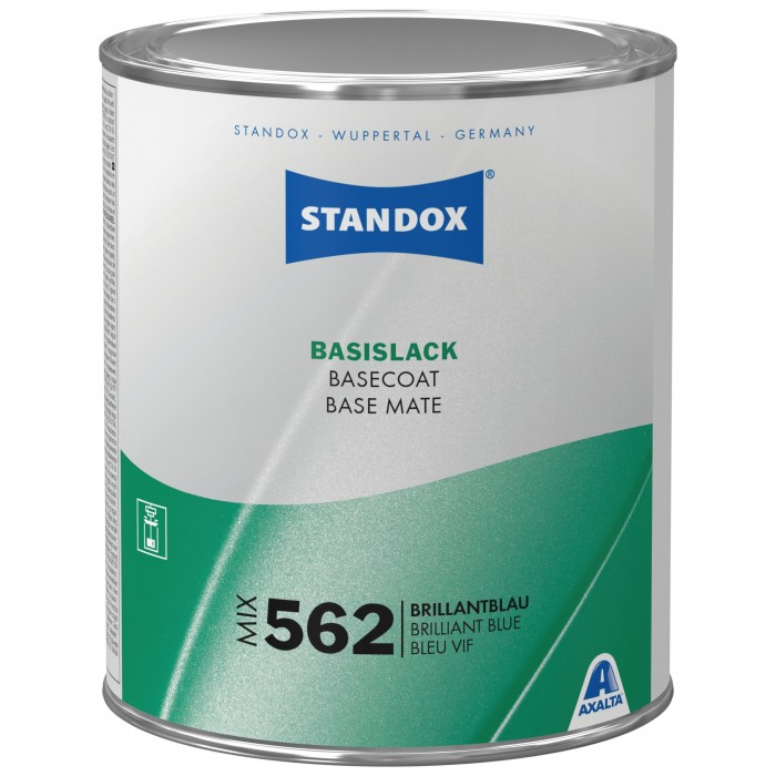 Базове покриття Standox Basecoat Mix 562 Brilliant Blue (1л)