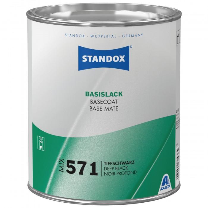 Базове покриття Standox Basecoat Mix 571 Deep Black (3.5л)