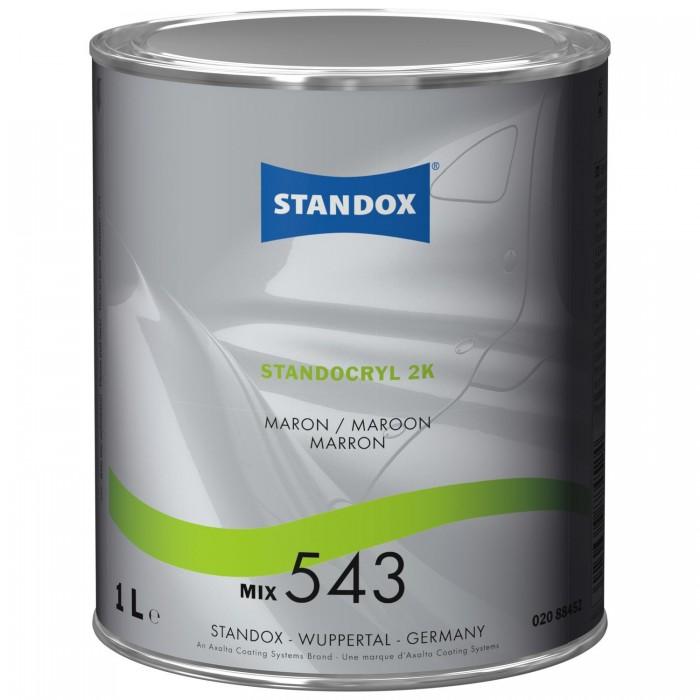 Двокомпонентна емаль Standocryl 2K Mix 543 Maroon (1л)