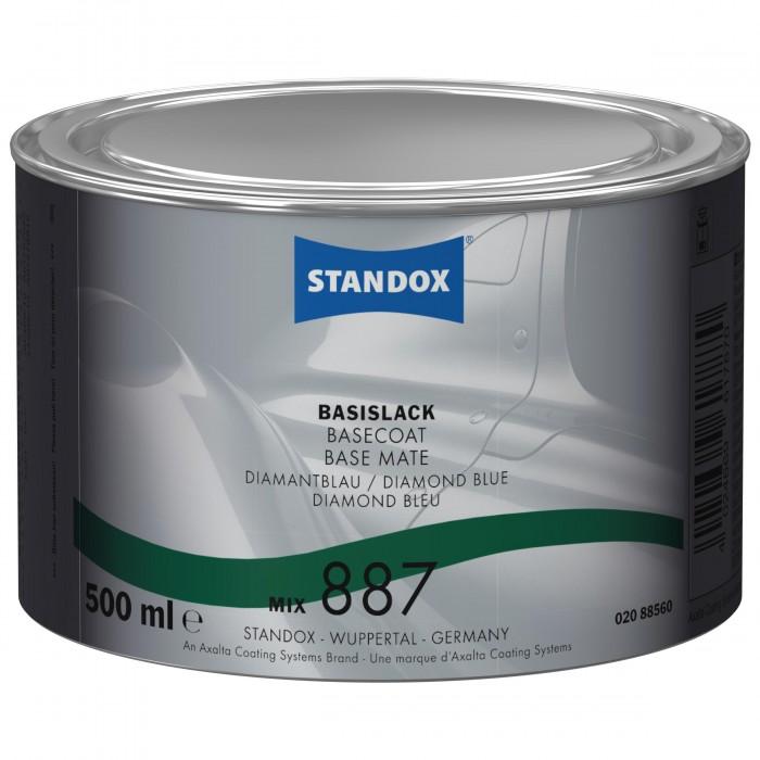Базове покриття Standox Basecoat Mix 887 Diamond Blue (500мл)