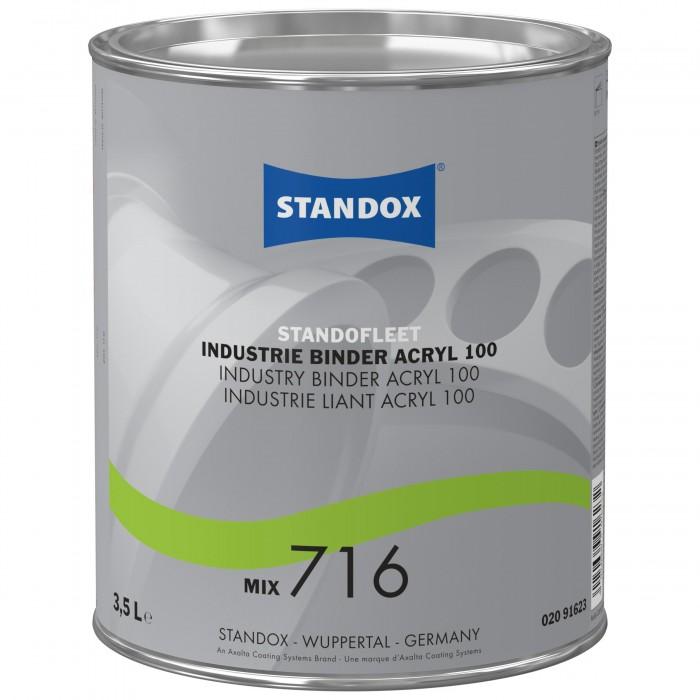 Звязуюче Standofleet Industry Binder Acryl 100 Mix 716 (3.5л)