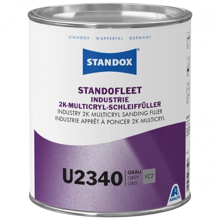 Грунт-наповнювач Standofleet Industry 2K Multicryl Sanding Filler U2340 Grey (3.5л)