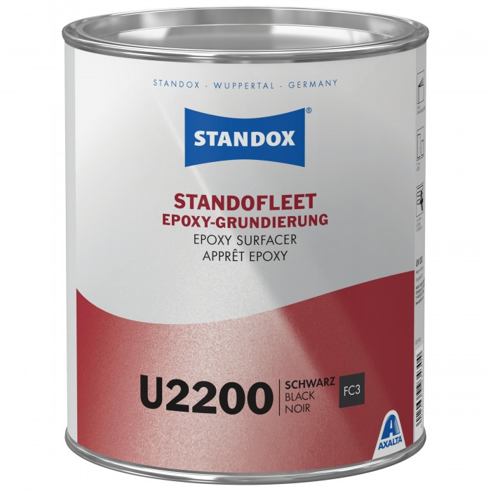 Грунт-наповнювач Standofleet Epoxy Surfacer 5:1 U2200 Black (3.5л)