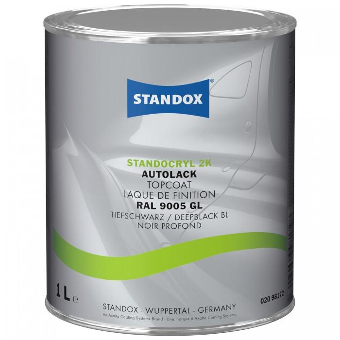 Готове покриття Standocryl 2K RAL 9005 Deep Black / BL (1л)