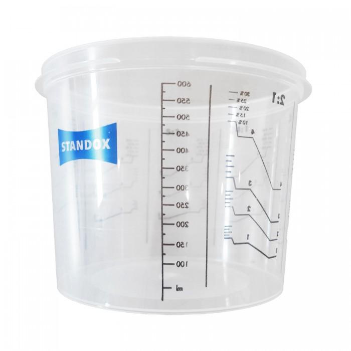 Тара Standox для змішування фарби без кришки (600мл)
